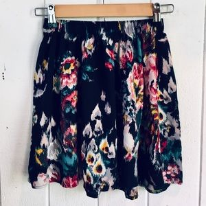 A&F Floral Skirt